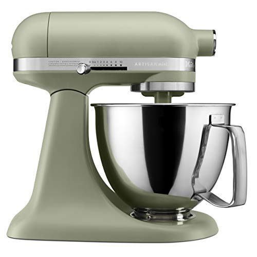 KitchenAid KSM3316XAV Artisan Mini Stand Mixers, 3.5 quart, Matte Avocado Cream