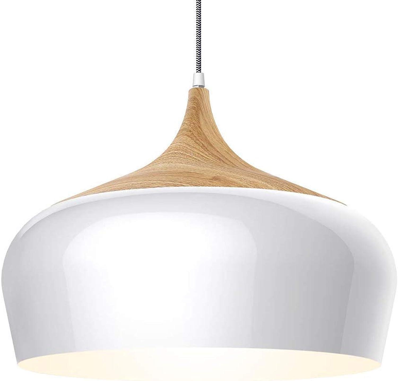 Moderne Ceiling-Lampe mit Holzpattern, groe Pendant Lampe aus Metall inklusive 5 W LED für Küche, Essen, Wohnzimmer und Studium als gut wie Café, schwarz [Energy Class A],Gold