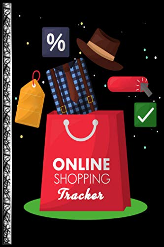 Online Shopping Tracker: Notebook for online purchases or shopping orders