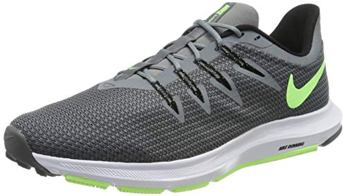 Nike Men's Running Shoes, Grey Cool Grey Lime Blast Black White 007, Womens 8