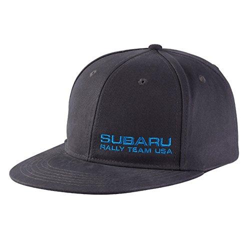 Genuine Subaru Rally Team Usa Flat Visor Cap Grey Rally Gear Hat Impreza STI WRX Racing