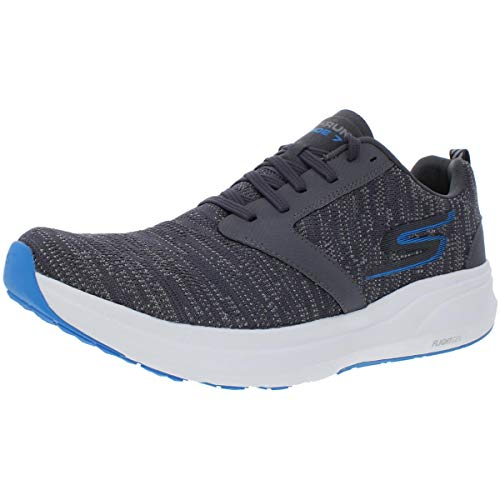 Skechers Performance Men's Go Ride 7 Running Shoe,charcoal/blue,8.5 M US