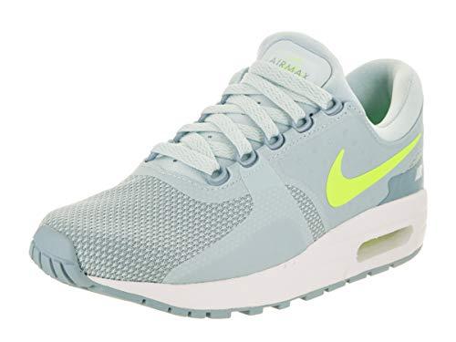 NIKE Nike Air MAX Zero GS Esenciales Operando Formadores 881229 Las Zapatillas de Deporte (UK 5.5 Nos 6Y UE 38.5, Glaciar voltios Azul Blanco 400) Mujer Azul Glaciar voltio 400 5.5 Reino Unido