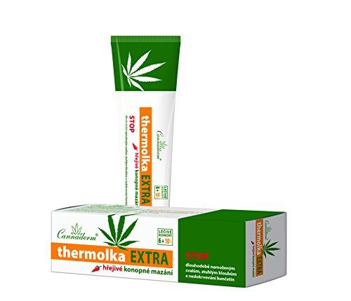 Thermolka EXTRA Natürlichen Hanf-Salbe für schmerzende Gelenke