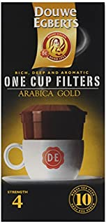 Douwe Egberts Arabica Blend One Cup Filters (Pack of 4) (B006T9YBKG) | Amazon price tracker / tracking, Amazon price history charts, Amazon price watches, Amazon price drop alerts