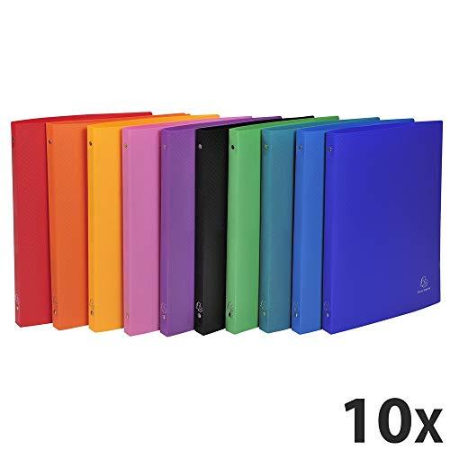 Exacompta 511999E cartella Polipropilene (PP) Multicolore A4