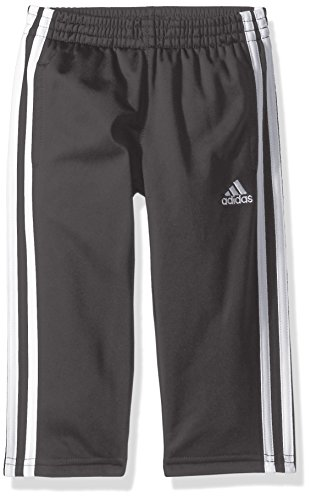 adidas Boys' Tricot Pant, Iconic Grey Five, Medium (10/12)