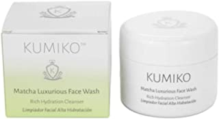 KUMIKO Matcha Luxurious Face Wash – Purifying Face Cleanser – Rich Face Wash for dehydrated Skin - Natural ...