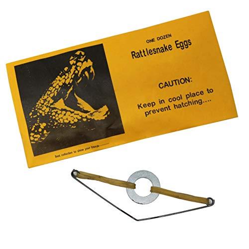 SN Incorp. Rattlesnake Eggs Prank Envelopes - Pack of 12 Rattlesnake Gag Envelope Gifts