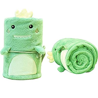 Fluffy Dinosaur Blanket Baby Gift for Boys Girl...