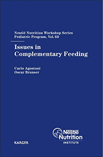 Issues in Complementary Feeding: 60th Nestlé Nutrition Workshop, Pediatric Program, Manaus, October 2006: 60th Nestle Nutrition Workshop, Pediatric ... Workshop Series: Pediatric Program, Band 60)