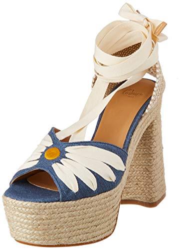 Castañer AROA, Zapatillas Mujer, Azul Marino, 38 EU