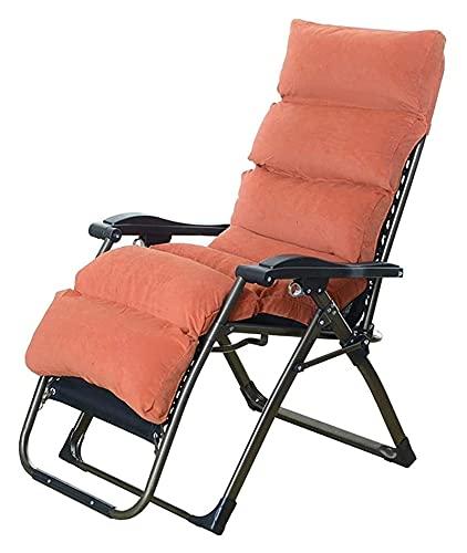 WECDS Sedia a Dondolo Sedia a Sdraio e Sedia a Sdraio Sedia a Sdraio reclinabile e Versatile Sedia a Sdraio Sedia a Sdraio (Colore : A3, Dimensioni : 65x53x78cm)