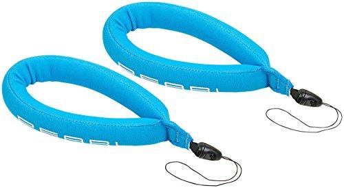 PEARL Handyschlaufe: 2er-Pack schwimmende Handschlaufe für Unterwasser-Kamera u.v.m, blau (Schwimmschlaufe)