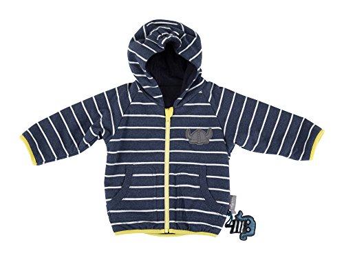 Sigikid Jungen Wendejacke, Baby Jacke, Blau (Melange Abl 390 772), 80