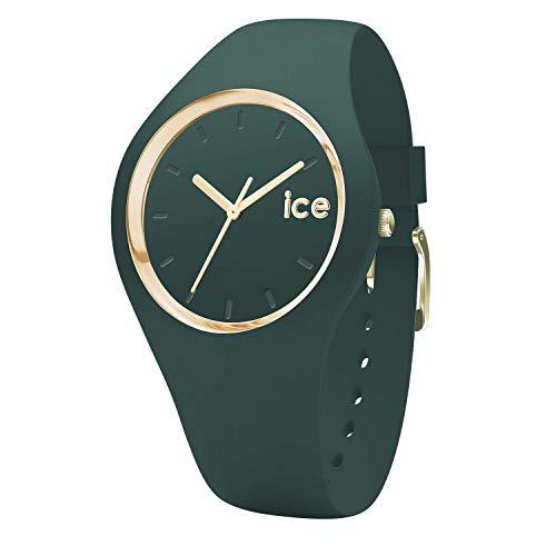 Ice-Watch - ICE glam forest Urban chic - Reloj verde para Mujer con Correa de silicona - 001058 (Small)