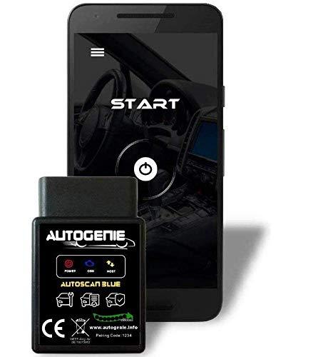 bestbeans Autogenie ECHTZEIT-Daten am Android Handy Bluetooth OBD2 KFZ Diagnose Smartphone PC Lesen und Löschen Fehlercode und Batterie Test