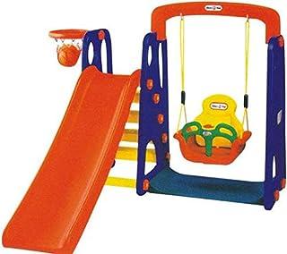 لعبة تزحلق و ارجوحة مع بورد كرة سلة
