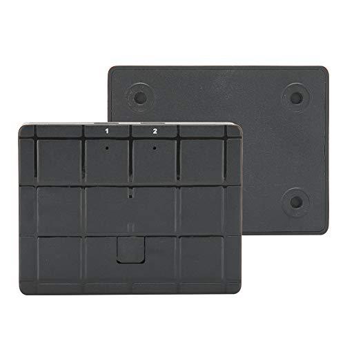 Changor Conmutador de Compartir USB, selector de conmutadores móviles 1980 x 1080 con Puertos ABS 2 para la Impresora del escáner de PC