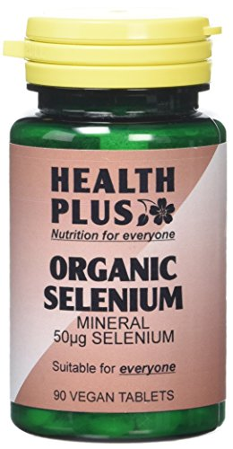 Health Plus Selenium 50µg Mineral Supplement - 90 Tablets