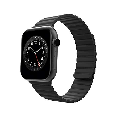 AnsTOP Compatible with Apple Watch Band 38mm 40mm 42mm 44mm , Adjustable Silicone Loop Strap with Strong Magnetic Closure for iWatch Bands Women Men Series 6 SE 5 4 3 2 1