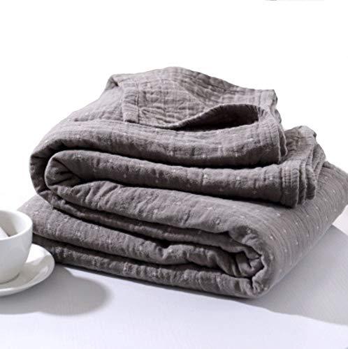 Zhicaikeji Couverture de lit de courtepointe printanière et estivale, couette d'été lavable à la machine avec la mode des étoiles Imprimé Édredon été, confort respirant et sécurité double serviette co
