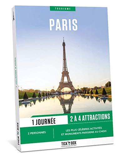 Tick&Box – Geschenkset Tourismus 1 Tag in Paris