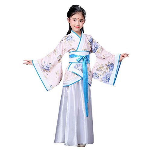Xinvivion Estilo Chino Hanfu Vestido - Antiguo Tradicional R