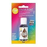 Colorante alimentario Color Right – Marrón – 19 ml