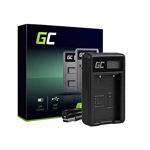 Green Cell® MH-61 Cargador para Nikon EN-EL5 Batería y Coolpix S10 P100 P500 P510 P520 P530 P5000 P5100 P5900 P6000 P7900 P80 P90 Cámaras (2W 4.2V 2A Negro)