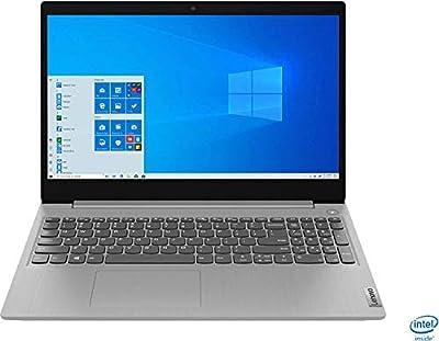 "Lenovo - IdeaPad 3 15"" Laptop - Intel Core i3-1005G1-8GB Memory - 256GB SSD - Platinum Grey - 81WE011UUS"