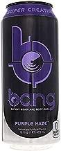 Bang Energy Drinks - 6, 16 ounce cans (Purple Haze)