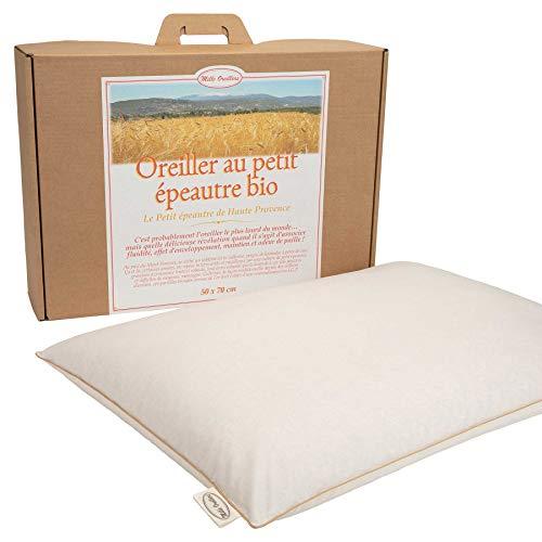 Mle almohadas con espelta biológica de alta provenencia, 50 x 70 cm