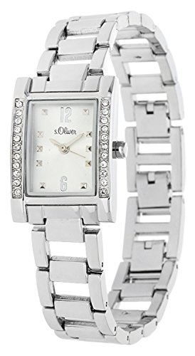 s.Oliver Damen-Armbanduhr Analog Quarz SO-15007-MQR
