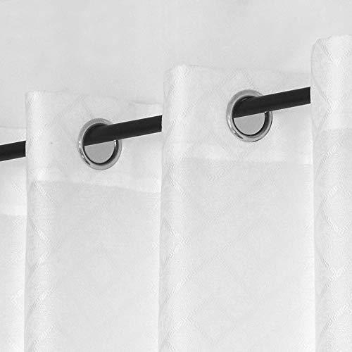 cortinas comedor semiopacas