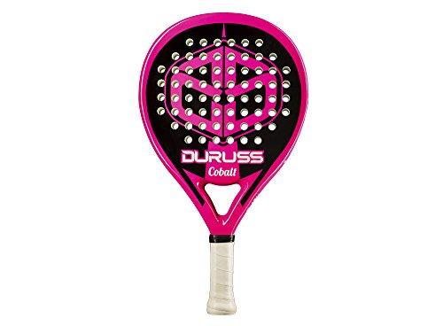 Duruss Cobalt Special Edition - Pala de pádel para Mujer, Color Rosa Fluor