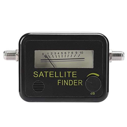 Buscador de Satélite Universal,Conector LNB a Rec Medidor DeIintensidad de Señal Sensible,Receptor de Señal de Satélite de TV Digital,Digital Satfinder Profesional,Localizadores de Satélites