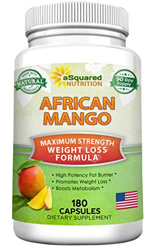 African Mango Extract Cleanse (180 Capsules) Plus Raspberry Ketones &