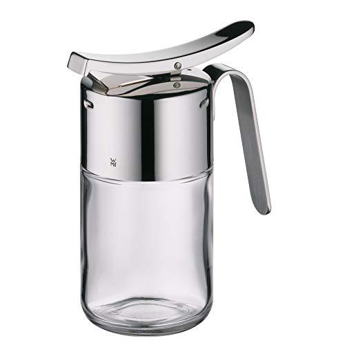 WMF Barista siroop-/honingdispenser, 240 ml, glas, Cromargan gepolijst roestvrij staal, vaatwasmachinebestendig