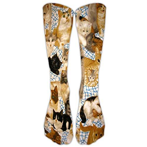 Anliyou wadenhoch Socken mit 3D Druck Unisex Wintersocken Funny lustig Mädchensocken Damensocken Weihnachtssocken Sportsocken Baumwollsocken Herbst Winter Frühling