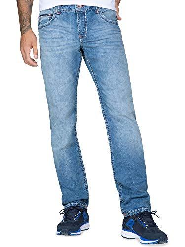 Camp David Herren Straight Leg Jeans CO:NO, Comfort Fit