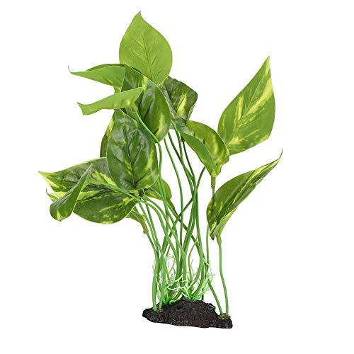 Ruiqas Plantas de Simulación de Acuarios Plantas de Agua de Césped Artificial Plantas de Plástico Ecológicas para Decoración de...