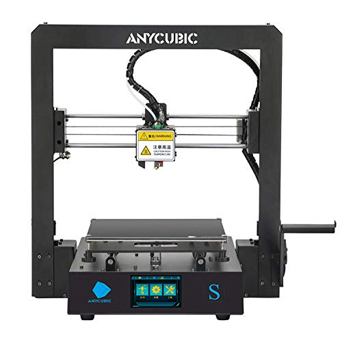 ANYCUBIC 3D Printer Mega S with All Metal Frame and Updated Extruder, FDM DIY Printer Works with TPU/PLA/ABS 210x210x205mm