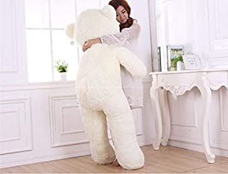 Birthday Day Gift Teddy Bear for Children and Female (White) 160CM