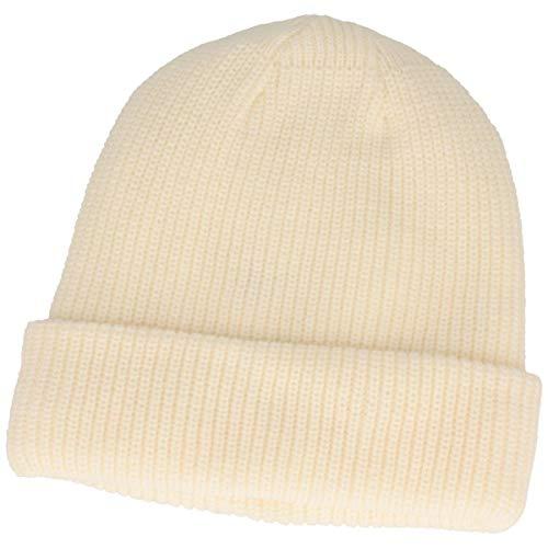 Strickmütze   Wintermütze   Beanie mit weichem Thinsulate™ Fleece-Futter & 7 cm breitem Umschlag – für Damen & Herren