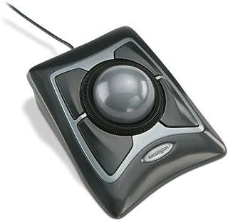 "Kensington Expert Trackball Mouse Black Silver 5""W x 5-3/4""D x 2-1/2""H"