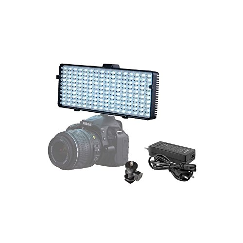 Linkstar LED-lamp VD-6 incl. accu