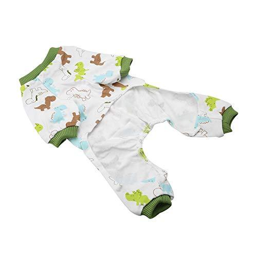 【𝐏𝐫𝐨𝐦𝐨𝐜𝐢ó𝐧 𝐝𝐞 𝐒𝐞𝐦𝐚𝐧𝐚 𝐒𝐚𝐧𝐭𝐚】 Pijamas para Mascotas, Pijamas para Perros, Pijamas de Dibujos Animados, Mono para Gatos, Ropa de algodón para Mascotas pequeñas para el Disfraz casero