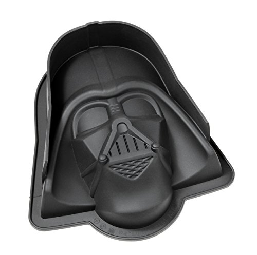 Star Wars Darth Vader Silikon Backform, schwarz, 23 x 20 x 6.7 cm