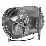 Ventilador de tubo axial de 315 mm de diámetro, para entrada de aire